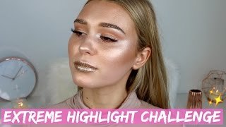 Download Full Face Using Only Highlighters Challenge | On Another Level Video
