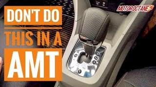 Download Avoid this on AMT cars | हिन्दी | MotorOctane Video