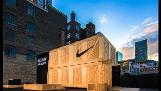 Download Shipping Containers Customized for Pop-Up Retail Store | Nike Live | ASTOUND Group Video