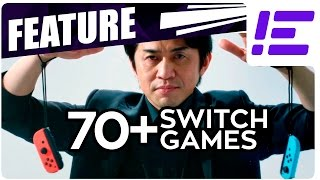 Download All The Confirmed Games For Nintendo Switch - Jan 13 2017 Video