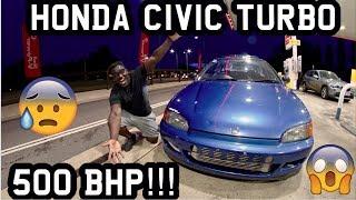 Download INSANE CIVIC EG B16A TURBO 500 BHP!!! *CRAZY* Video