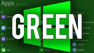 Download Windows 8 Green Edition - Overview & Demo Video
