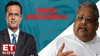 Download Rakesh Jhunjhunwala To ET NOW - Full Exclusive Interview Video