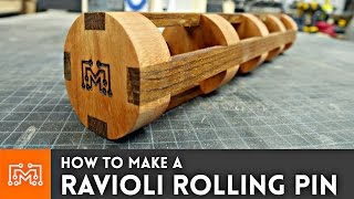 Download How to Make a Ravioli Rolling Pin // Woodworking Video