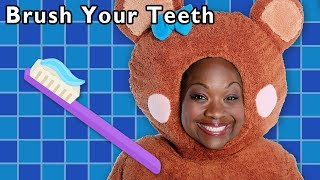 Download Brush Your Teeth + More | HEALTHY HABITS | Early Education | Mother Goose Club Phonics Songs Video