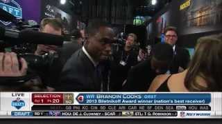 Download Brandin Cooks is the 20th pick of the 2014 NFL Draft Video