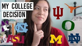 Download Where am I going to college? | my college decision + how I decided Video