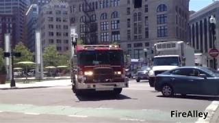 Download Boston Fire Department Engine 10 Responding!!!!! (Major Q and Horn!!!) Video
