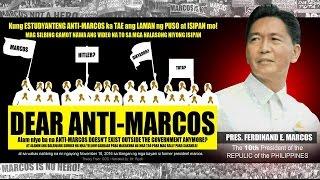Download Dear Anti-Marcos - Mr. Riyoh Video
