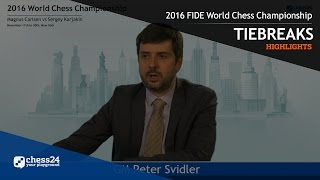 Download 2016 FIDE World Chess Championship - Highlights - Tiebreaks Video