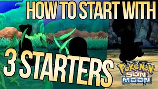 Download How to Get 3 Starters in Pokemon Sun & Moon | Austin John Plays Video