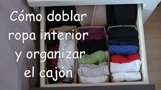 Download Cómo doblar ropa interior y organizar el cajón. Método del bolsillito Video