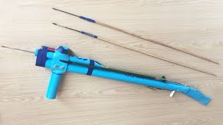 Download Awesome!! Smart Man Creative Gun Rubber Slingshot With Plastic Pipes In 500 Seconds Video