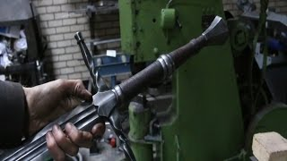 Download Forging a The Witcher 3 sword, the complete movie. Video