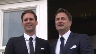 Download Xavier Bettel und Gauthier Destenay geben sich das Ja-Wort Video