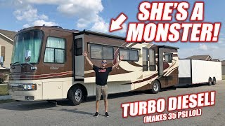 Download We Bought a GIANT RV! Her Name is Monica, She Loves Boost! *Full Tour* Video