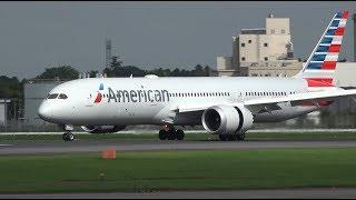 Download American Airlines Boeing 787-9 N820AL Landing at NRT 34R Video