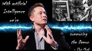 Download With artificial Intelligence we're summoning the Demon - Elon Musk Video
