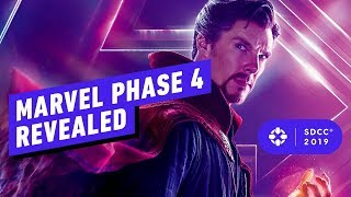 Download Marvel's Phase 4 Panel Blew Our Minds - Comic Con 2019 Video