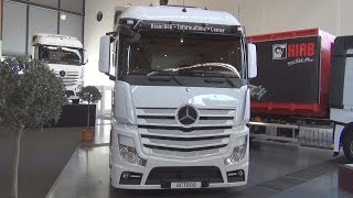Download Mercedes-Benz Actros 1845 4x2 Tractor Truck (2016) Exterior and Interior in 3D Video
