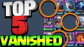 Download Top 5 Cards That Have Disappeared from Clash Royale Video
