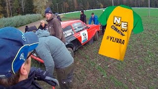Download Salpausselkä Ralli 2016 | Spectator Cam | Ford Escort Crash Video
