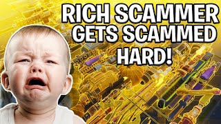 Download ANGRY Rich Kid Scams Himself! (Scammer Gets Scammed) Fortnite Save The World Video