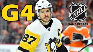 Download Pittsburgh Penguins vs Philadelphia Flyers. 2018 NHL Playoffs. Round 1. Game 4. 04.18.2018. (HD) Video