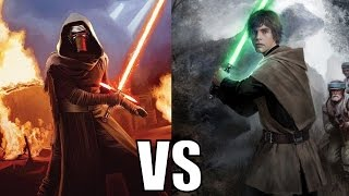Download Kylo Ren vs Luke Skywalker (Canon) Video
