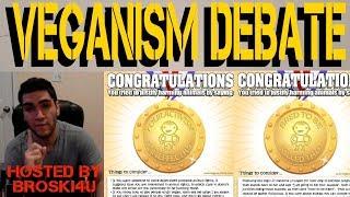Download VEGANISM DEBATE | FT BROSKI4U AND MATT | THUNDER BAY PERSONAL TRAINER LOGAN BLAKE Video