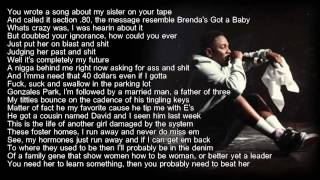 Download Kendrick Lamar - Sing About Me (HD Lyrics) Video