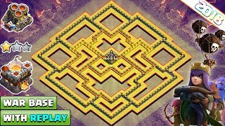 Download NEW Undefeated Town Hall 11 (Th11) War Base 2018 With Replay | Anti Everything - Clash of Clans Video