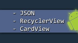 Android Card View and Recycler View Free Download Video MP4