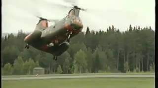 Download Swedish pilot does crazy things with Chinook helicopter! Video