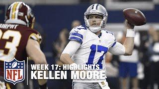 Download Kellen Moore Throws for 435 Yards & 3 TDs | Redskins vs. Cowboys | NFL Week 17 Highlights Video