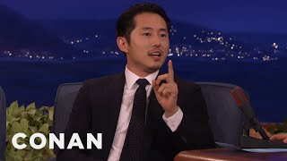 Download Steven Yeun: Conan's Been Mispronouncing My Name For Years - CONAN on TBS Video