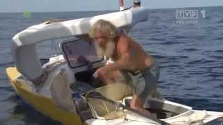 Download Aleksander Doba - ″Kajakiem przez Ocean″ - reportaz TVP1 Video