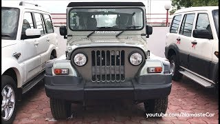 Download Mahindra Thar CRDe 2017   Real-life review Video