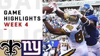 Download Saints vs. Giants Week 4 Highlights | NFL 2018 Video