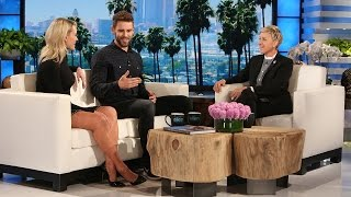 Download 'DWTS' Partners Nick the Bachelor & Peta Catch Up with Ellen Video