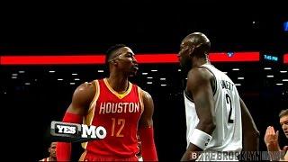 Download Dwight Howard, Kevin Garnett fight - Nets/Rockets 1/12/2015 Video