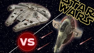 Download Slave I vs the Millennium Falcon | Star Wars: Who Would Win Video