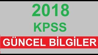 Download 2019 KPSS Karışık Güncel Bilgiler -A Video