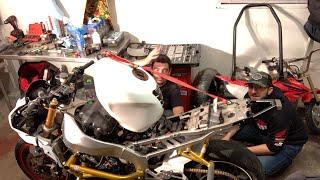 Download Stock To Stunt Bike Build LIVE! - FINALE Part 4 Video