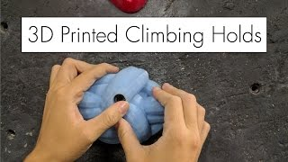 Download 3D Printed Climbing Holds (modeled in VR, of course) Video