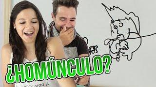 Download ¿ES UN HOMÚNCULO? - DIBUJANDO A CIEGAS Video