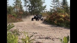Download Maverick X3 XRS Turbo Drifting Michigan Trails Video