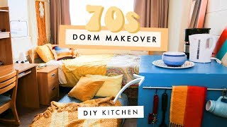 Download a groovy 70s dorm makeover! Video