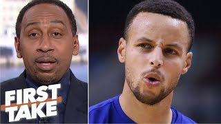 Download Stephen A.'s choice of Steph Curry over Magic Johnson sparks a heated debate | First Take Video