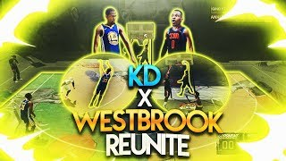 Download 99 OVERALL RUSSELL WESTBROOK & KEVIN DURANT GAMEPLAY NBA 2K18! RUSSELL WESTBROOK 2K18! KD BUILD 2K18 Video